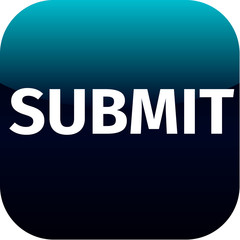 blue text submit icon for app