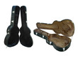 The image of open guitar case