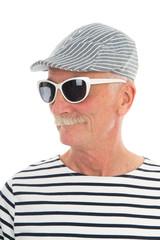 Portrait retired man