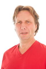 Portrait adult man