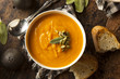 Homemade Autumn Butternut Squash Soup - 71561932