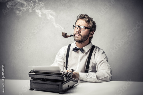 Thinking of something to write down - 71562732