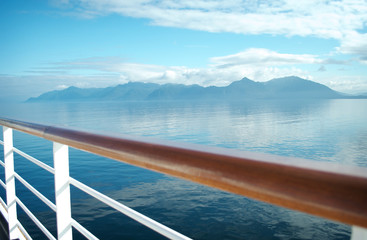 Onboard View of Alaska
