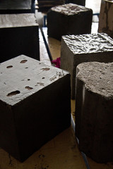 Cubi di cemento