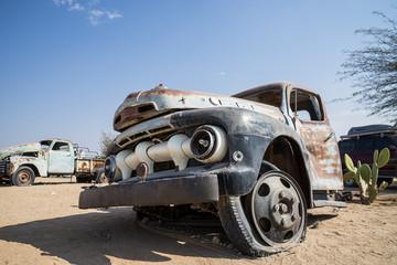 Truck abbandonato
