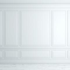 White classical interior