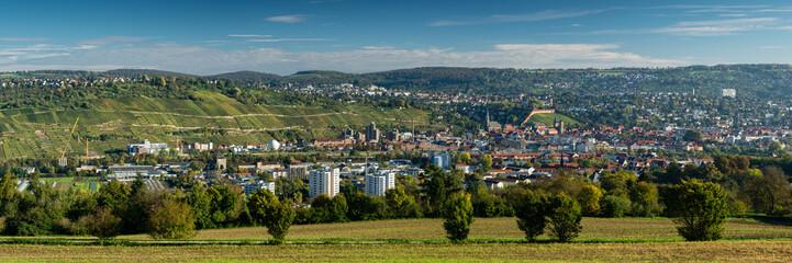 Panorama von Esslingen