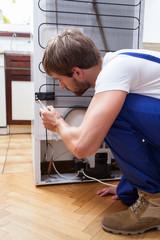 Fridge repair at home