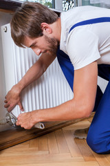 Fixing radiator at home