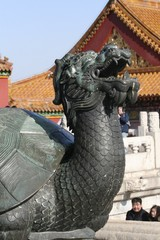 Forbidden City Dragon Statue - Chinese Imperial Palace, Beijing