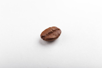 Coffee bean isolated on white