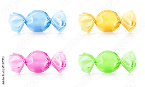 Candy, vector illustration - 71567331