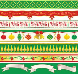 Elegant Christmas Ribbons