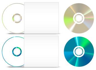CD - DVD paper set