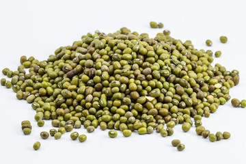 Mung beans - background