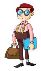 nerd business man