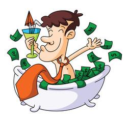 Money Bathe