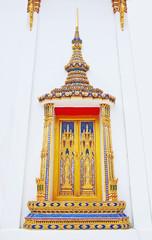 Beautiful Thai temple window