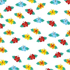 hawaii flower design