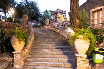 Taormina City Scape