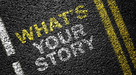 what's your story on the asphalt road