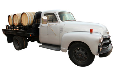 USA - Vintage wine delivery truck