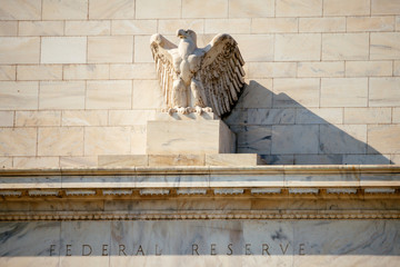 Federal Reserve Building, Washington DC, USA.