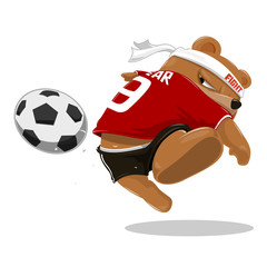 Mascot_Bear_shoot