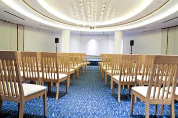 Conference room in hotel