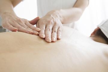 Relaxation back massage