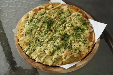 Pizza Japanese style