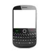 Modern Contemporary Black Mobile Phone