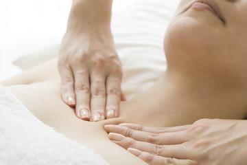 Massage of the neck