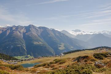 Bettmeralp, Bergdorf, Simplon, Walliser Berge, Alpen, Schweiz
