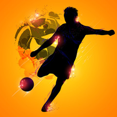 Fantasy soccer player