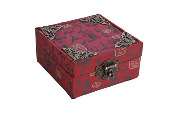 Chinese red gift box