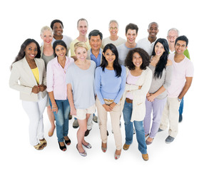Group of Diverse Casual People