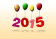 canvas print picture - Neujahr 2015