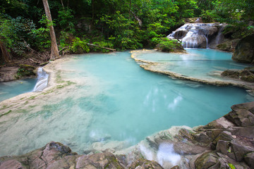 Erawan waterfall National Park Kanjanaburi,Thailand