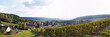Leinwandbild Motiv Panorama of vineyard