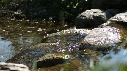 Wasserfall im Steingarten