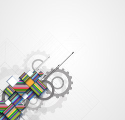 abstract technology background Business & development