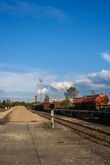 altes Güterbahnof Gelände