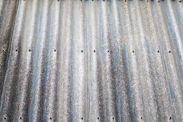 Shiny metal roof
