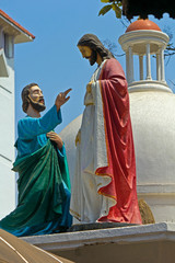 Apostle Thomas and Jesus Christ