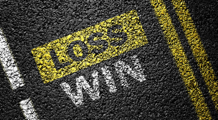 win not loss on the asphalt road