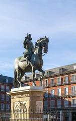 statue of King Philip III, Madrid