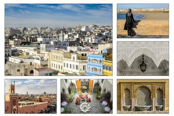 Eindruecke von Marokko Afrika