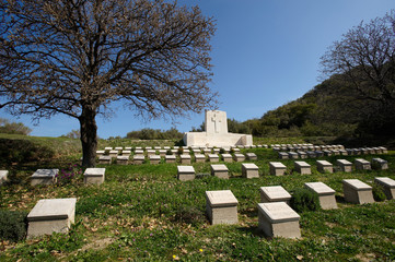 The 4th Battalion Australian Cemetery in Gallipoli, Turkey