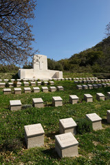 The 4th Battalion Australian Military Cemetery Gallipoli, Turkey